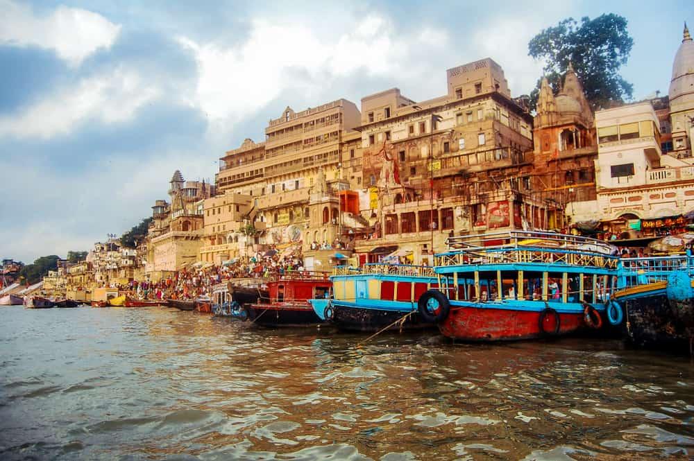 Ganj Nehri, Varanasi, Hindistan