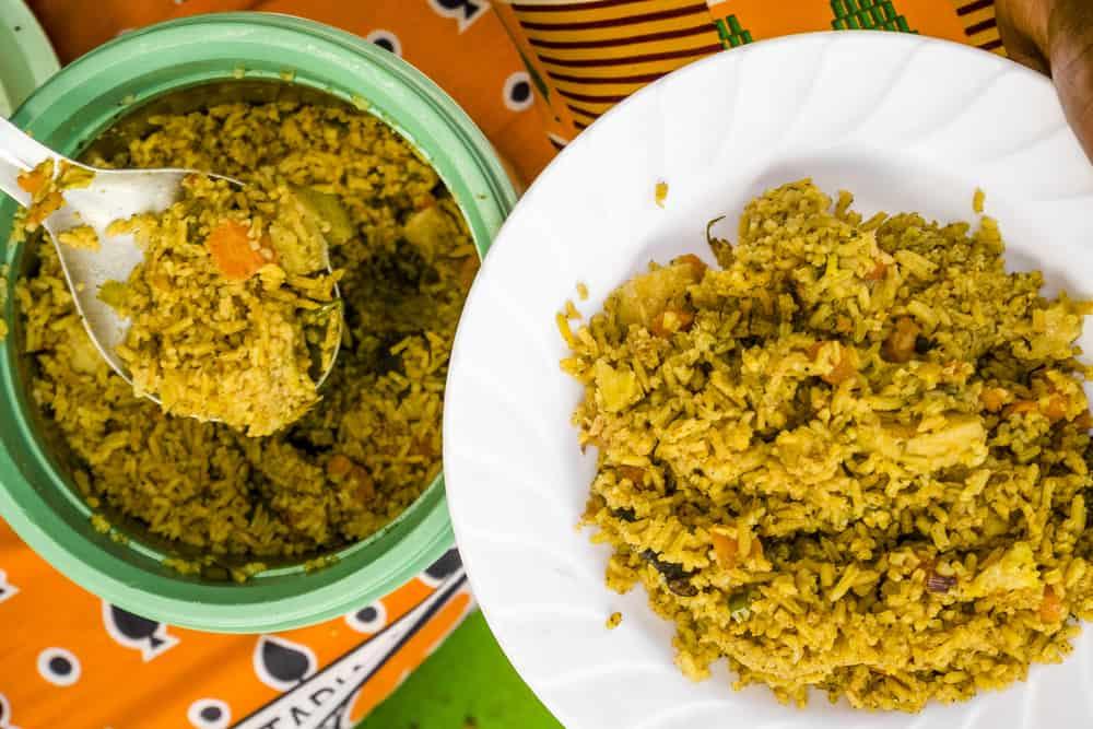 Kenya pilau yemek