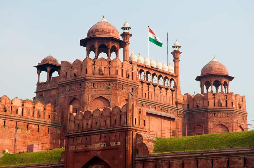 Lal (Kızıl) Kale Yeni Delhi Hindistan