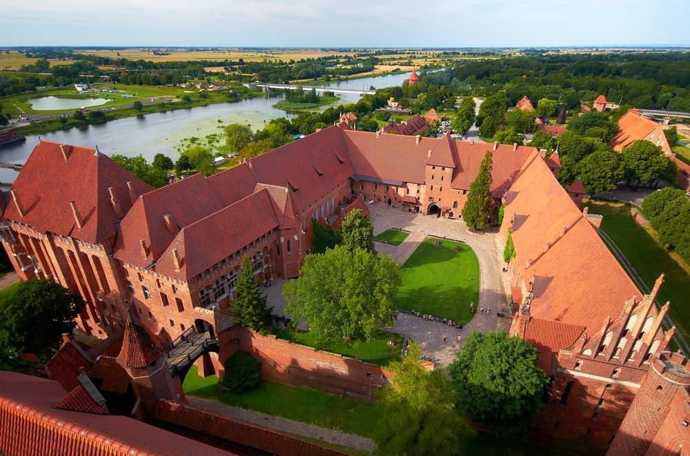 Malbork Kalesi Polonya