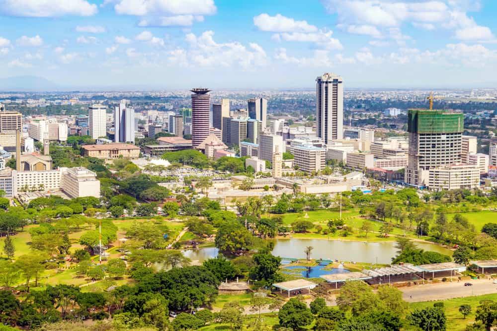 Nairobi'de Alışveriş
