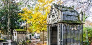 Pere Lachaise Mezarlığı, Paris, Fransa