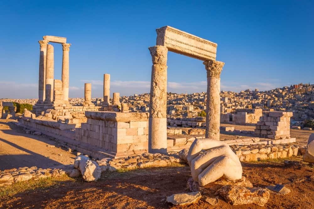 Roma Herkül Tapınağı Amman Ürdün