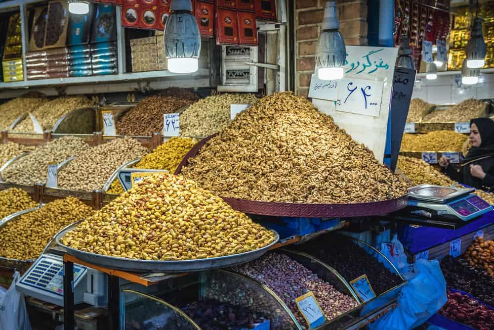 Tahran İran Alışveriş
