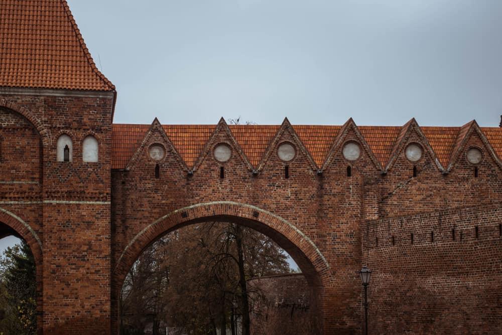 Polonya Toruń Kalesi Töton Şövalyeleri Harabeleri