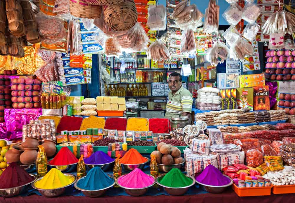 Yeni Delhi Alışveriş