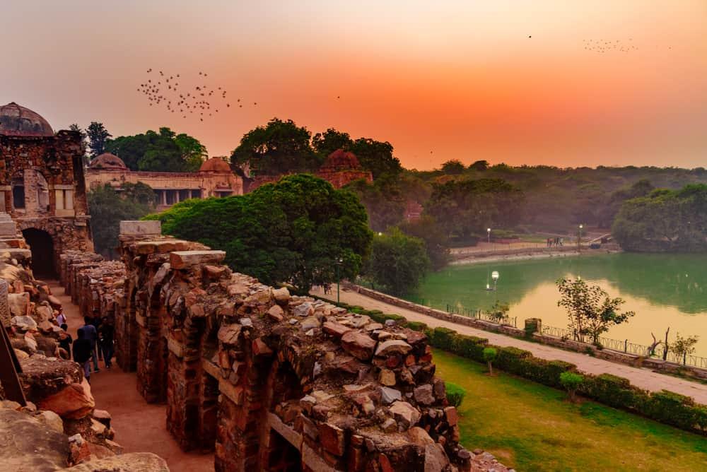 Yeni Delhi Hauz Khas Köyü