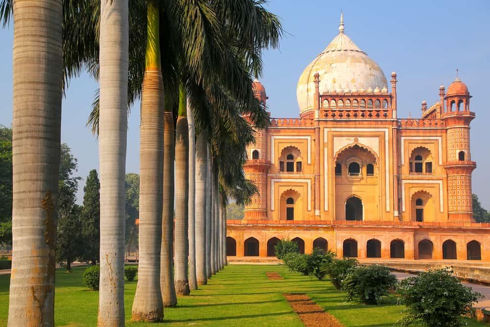 Yeni Delhi, Hindistan'da Safdarjung'un Türbesi