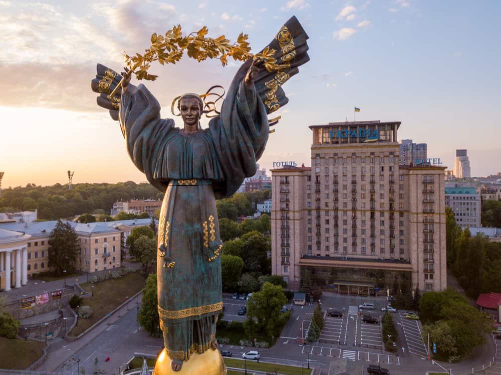 Bağımsızlık Anıtı – Independence Monument, Kiev