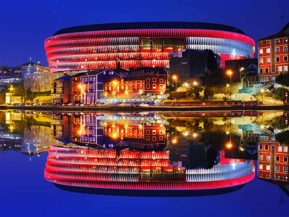 San Mames Stadyumu Bilbao İspanya