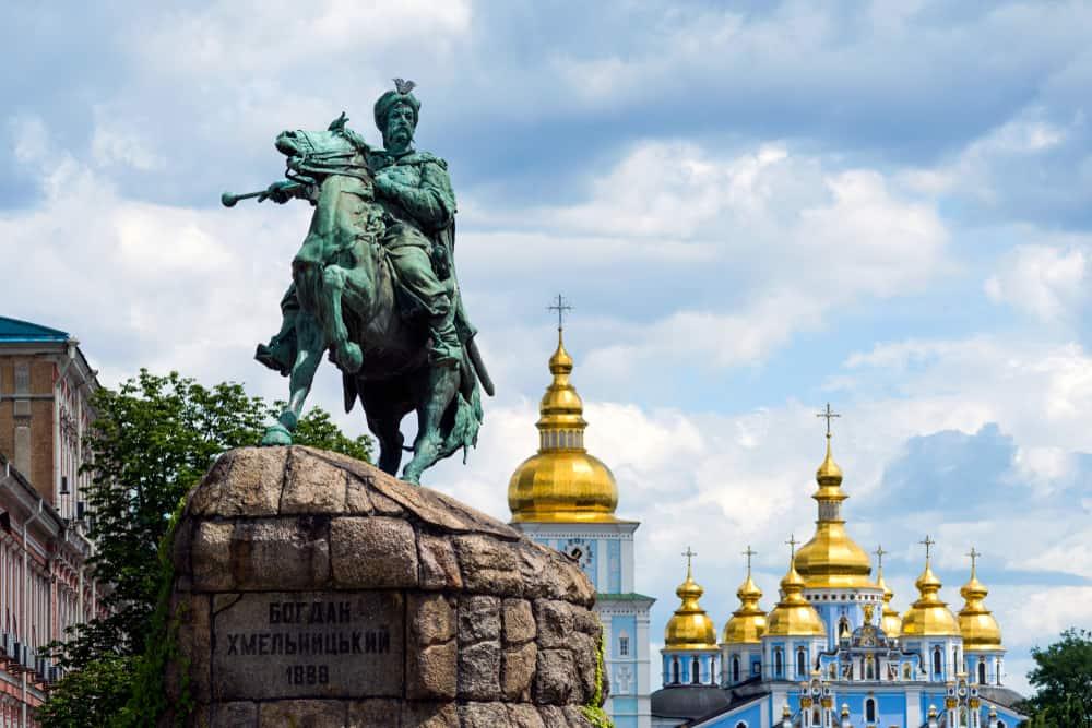 Bohdan Khmelnitski Anıtı - Bohdan Khmelnytsky Monument, Kiev