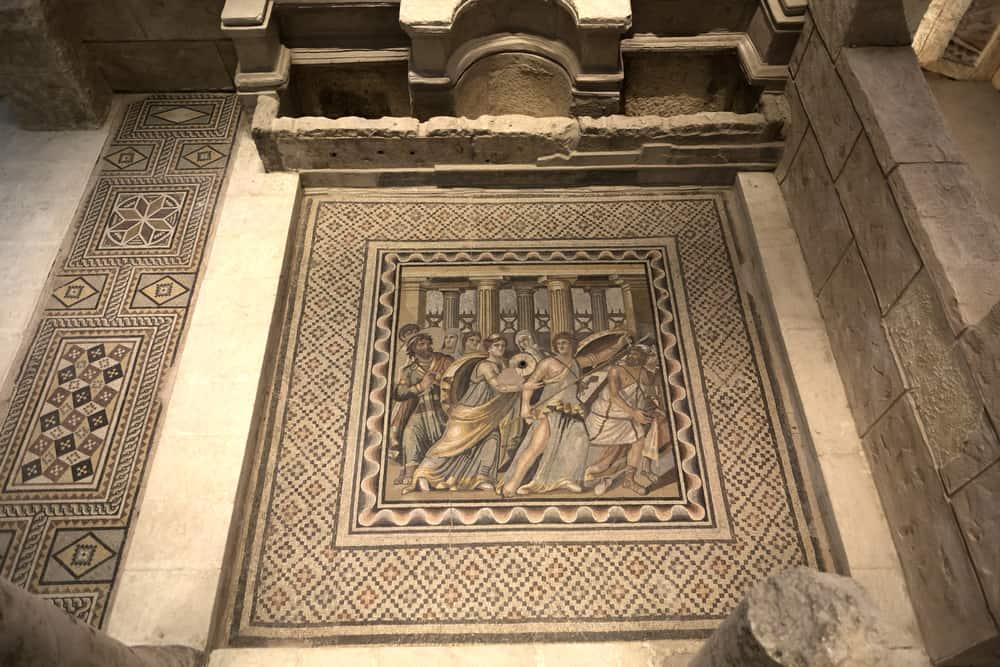 Zeugma Müzesi- Zeugma Mozaik Müzesi'nin Bölümleri, Gaziantep