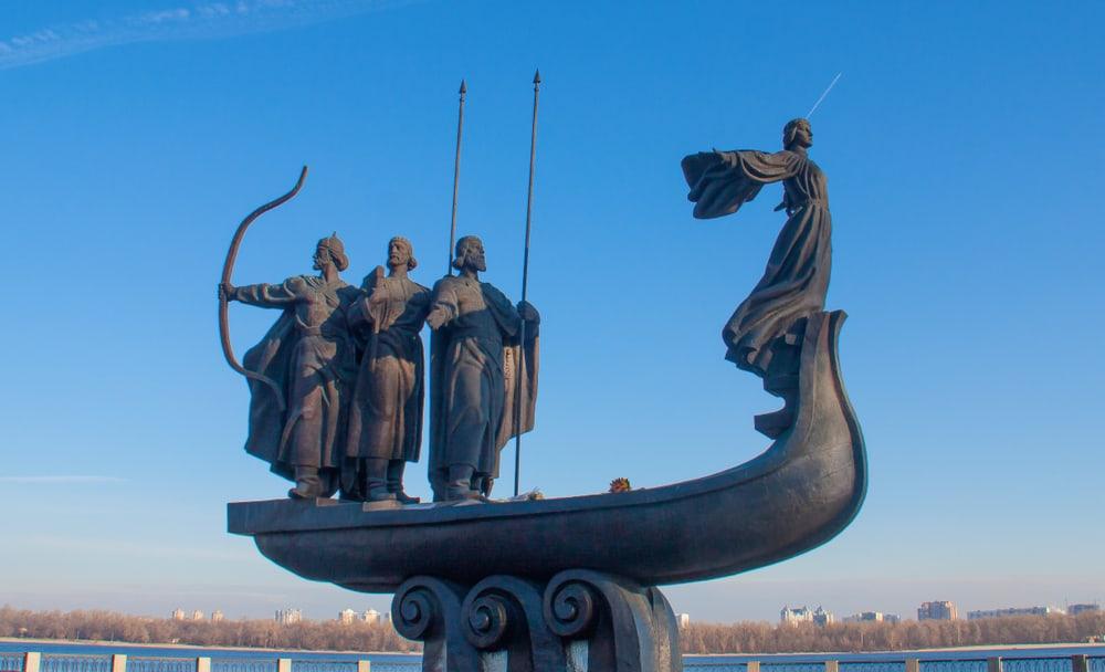 Kiev'in Kurucuları Anıtı – Kiev's Founders Monument, Kiev