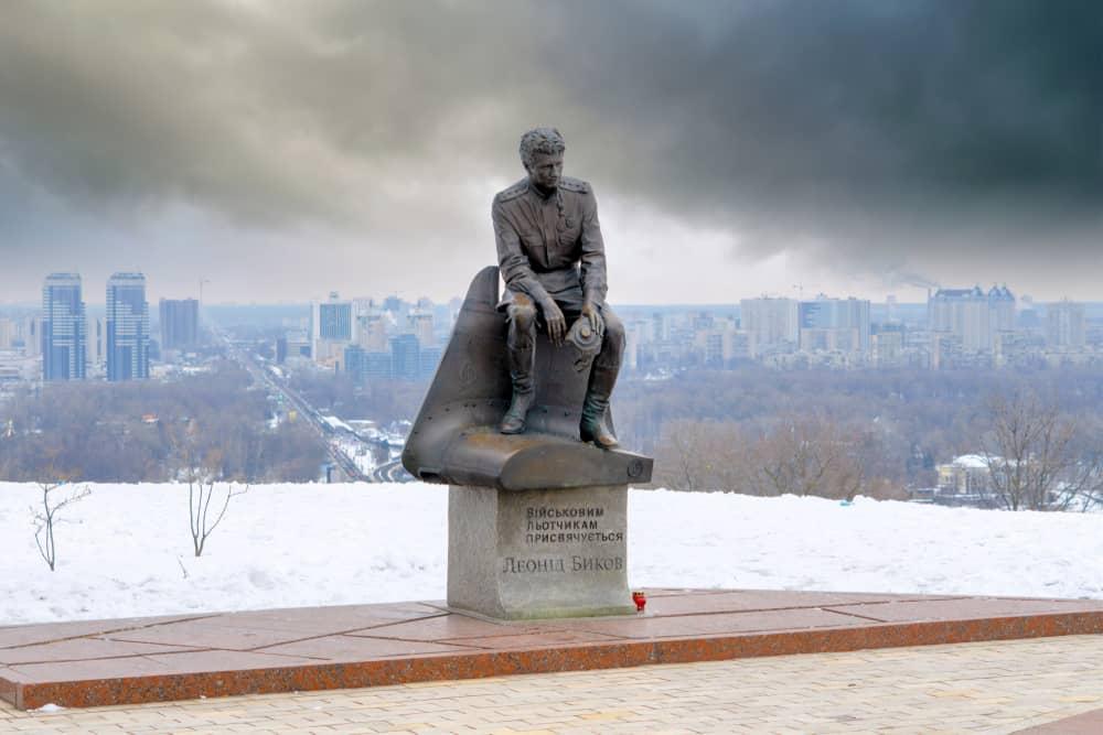 Leonid Bykov Anıtı -Leonid Bykov Monument, Kiev