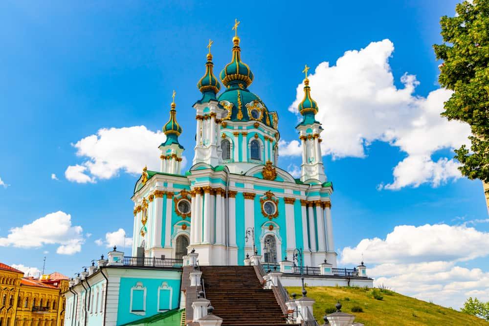 Aziz Andrew Kilisesi- Ortodoks Kiev ve Manastırları