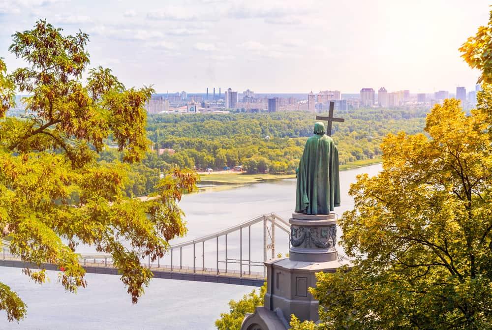 Prens Büyük Volodimir Anıtı - Prince Volodymyr the Great Monument, Kiev