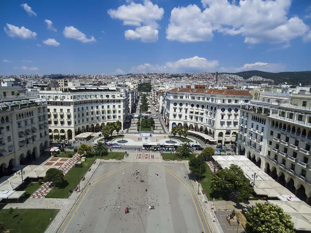Aristotelous Meydanı Selanik