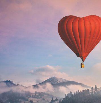 Sevgililer Günü Kalpli Balon