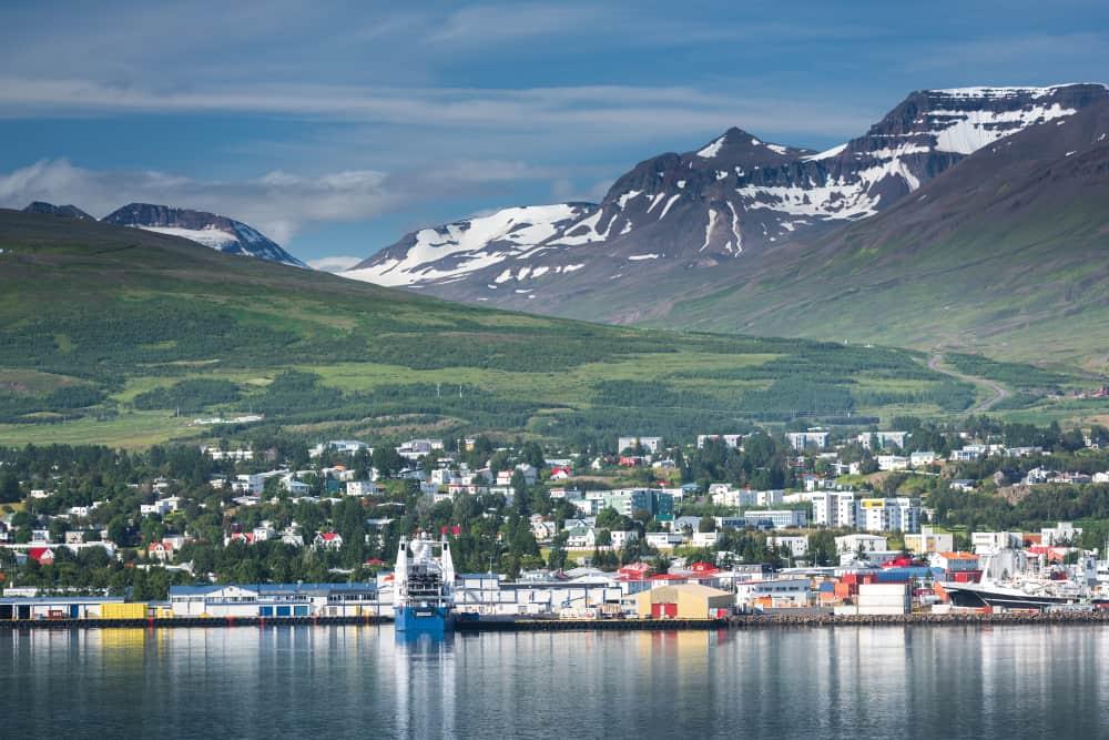 Akureyri İzlanda