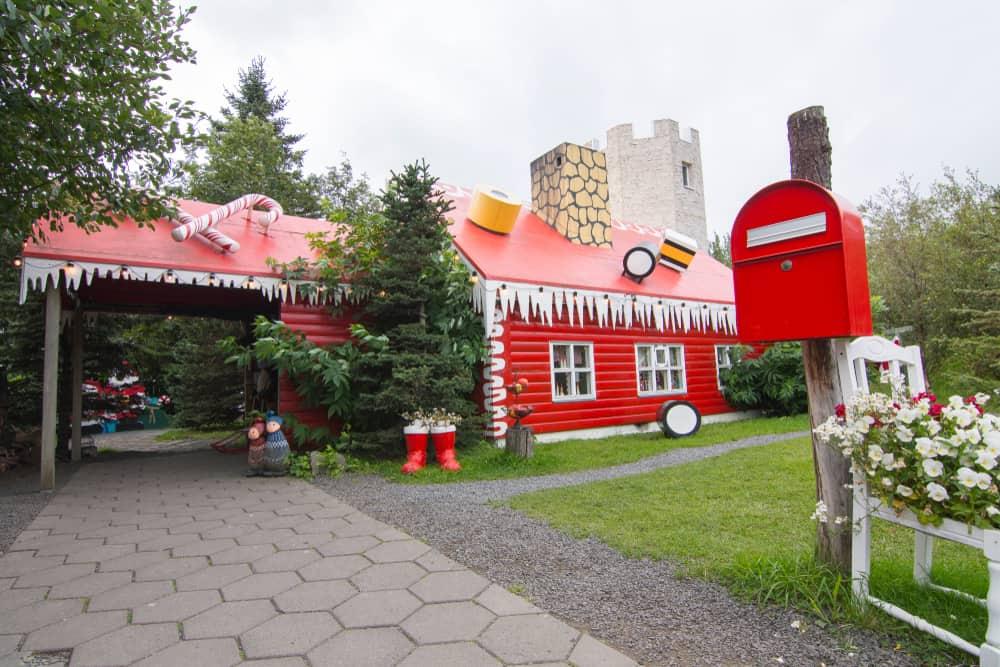 Akureyri Noel Evi İzlanda