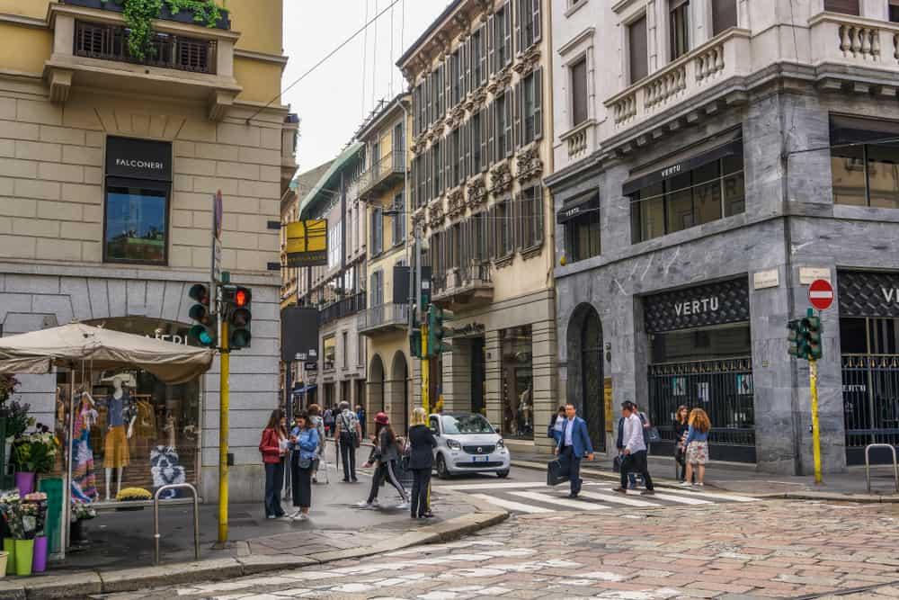 Altın Dörtgen (Quadrilatero d'Oro) Milano