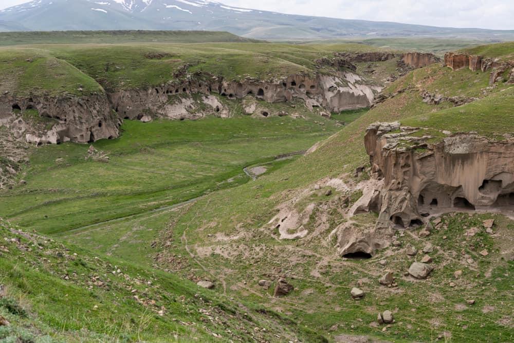Ani Mağaraları, Kars