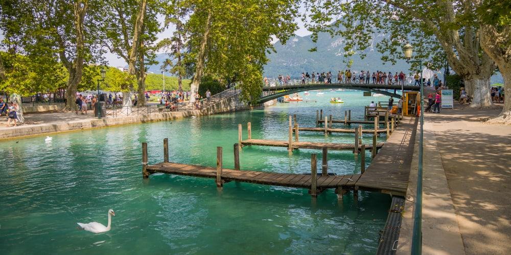 Annecy Aşıklar Köprüsü– Fransa