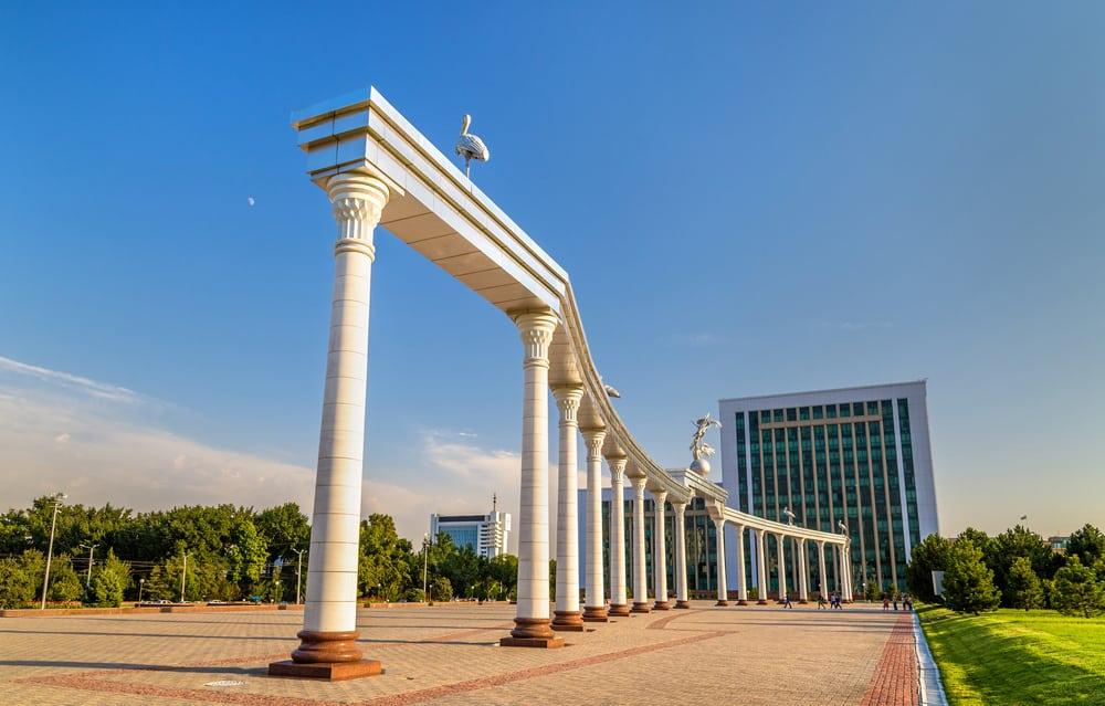 Bağımsızlık Meydanı Taşkent Özbekistan