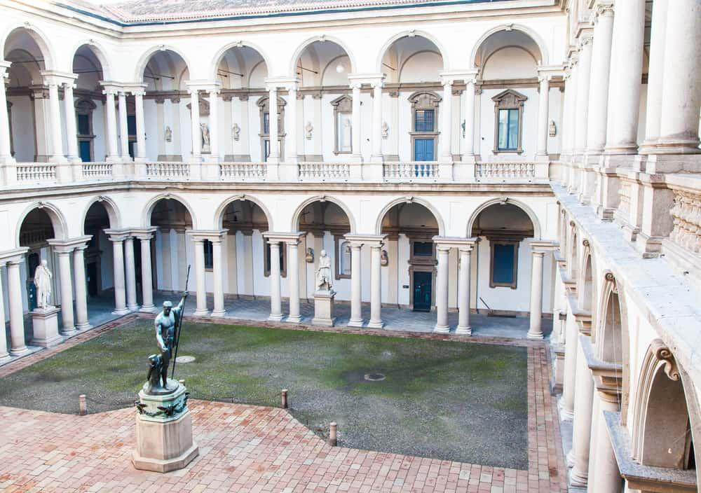 Brera Sanat Galerisi Milano İtalya