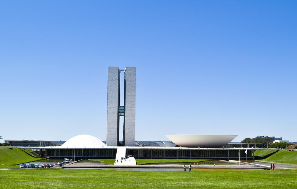 Brezilya Ulusal Kongre Binası Brezilya