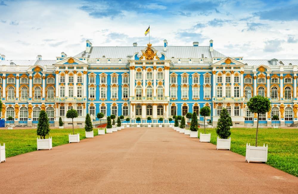 Catherine Sarayı St. Petersburg Rusya