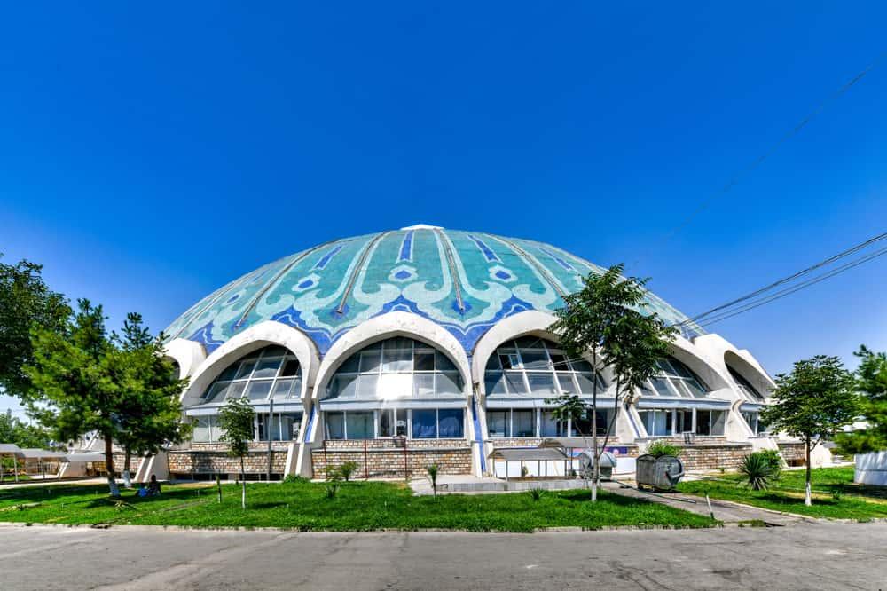 Chorsu Çarsısı Taşkent Özbekistan