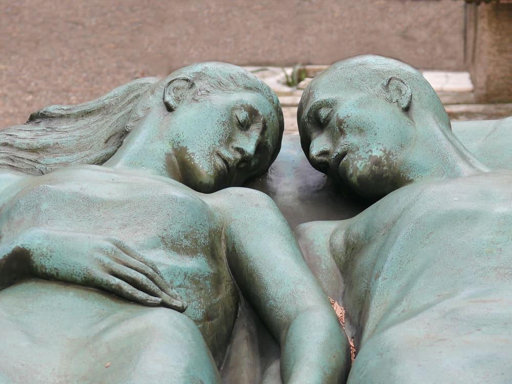 Cimitero Monumentale (Mezarlık) Milano Heykeller
