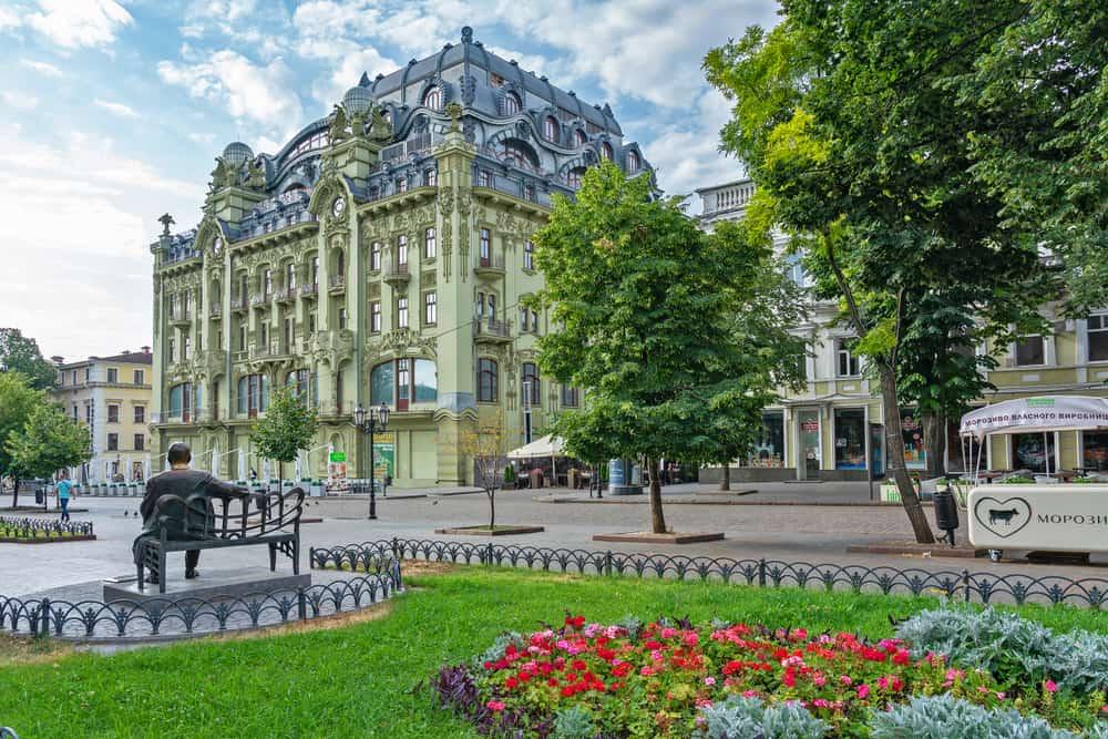 Deribasovskaya Caddesi Odessa Ukrayna