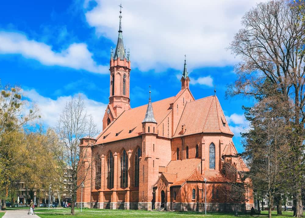 Druskininkai – Litvanya Aziz Mary Kilisesi