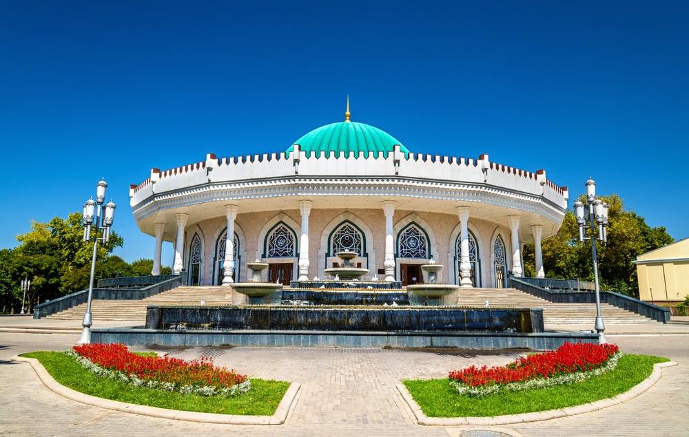 Emir Timur Müzesi Taşkent Özbekistan