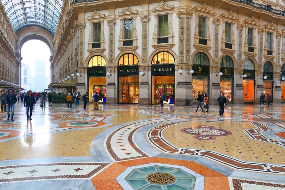 Galeria Vittorio Emanuele İtalya