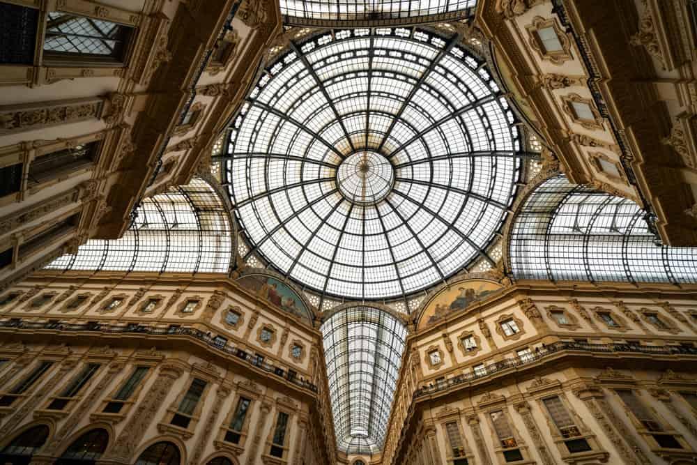 Galeria Vittorio Emanuele Milano İtalya