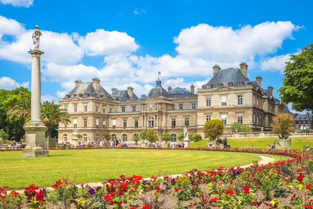 Jardin du Luxemburg Paris Fransa