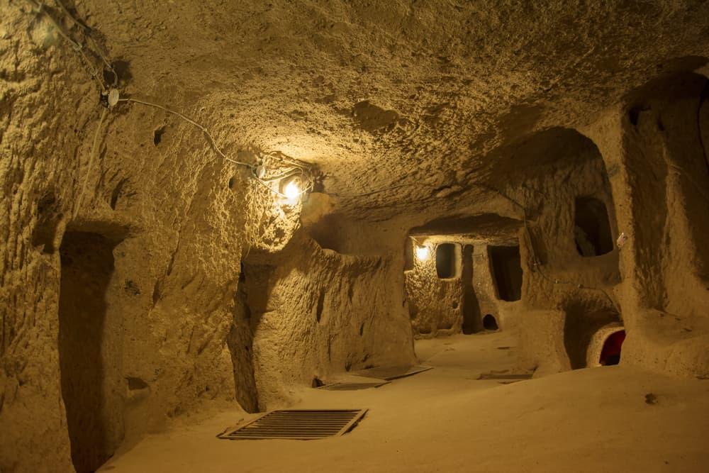 Kaymaklı Yer Altı Şehri, Kapadokya