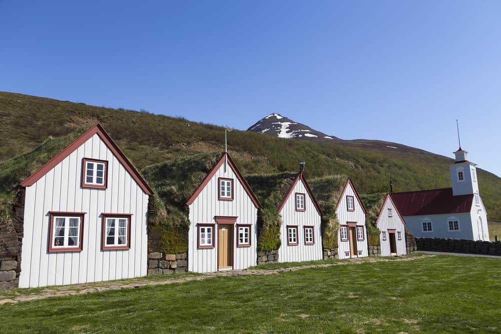 Laufas Evleri Akureyri İzlanda