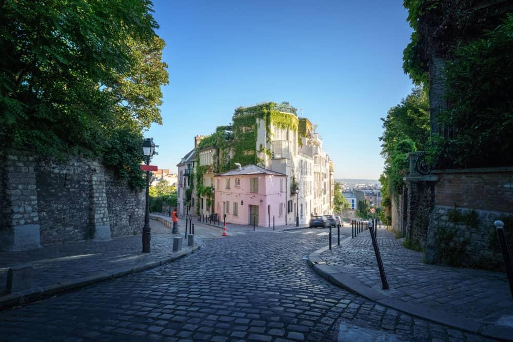 Montmarte Paris Fransa