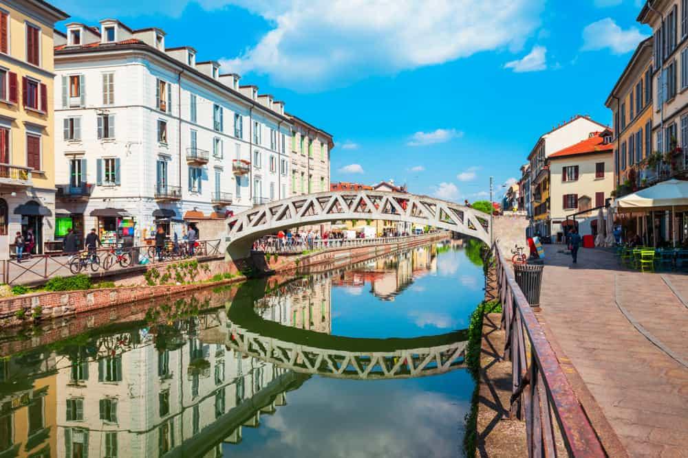 Navigli Bölgesi Milano