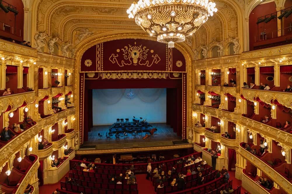 Odessa Opera Binası Ukrayna