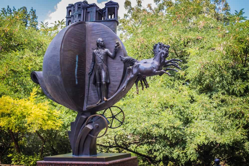 Portakal Anıtı Odessa Ukrayna