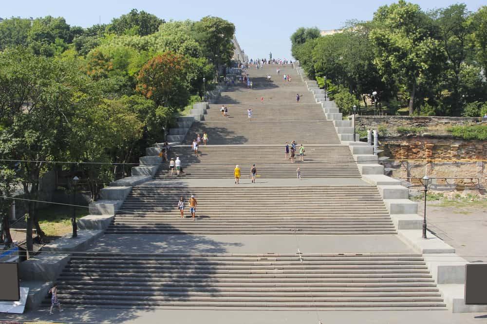 Potemkin Merdivenleri Odessa Ukrayna