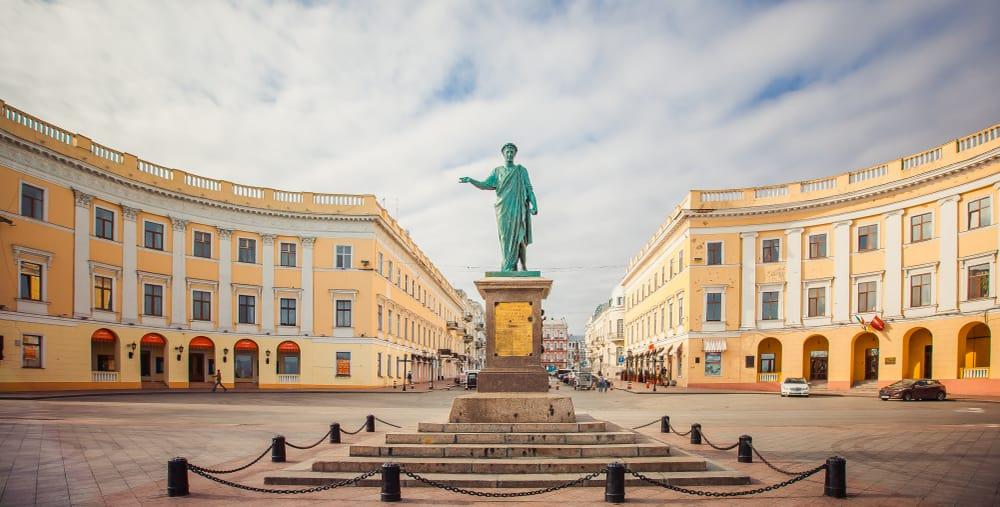 Primorsky Bulvarı Odessa Ukrayna