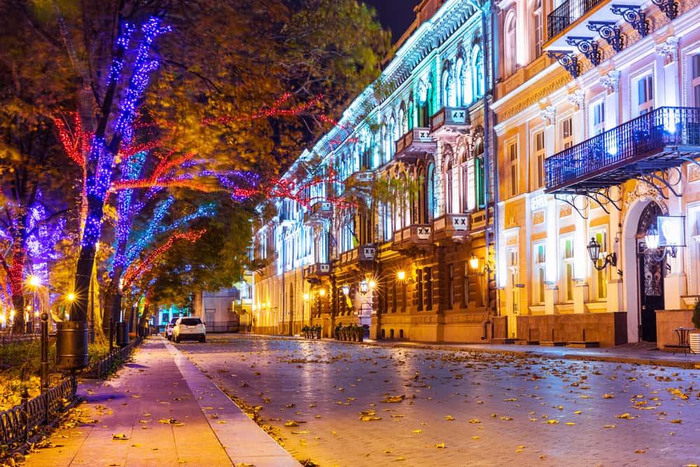 Primorsky Bulvarı Odessa