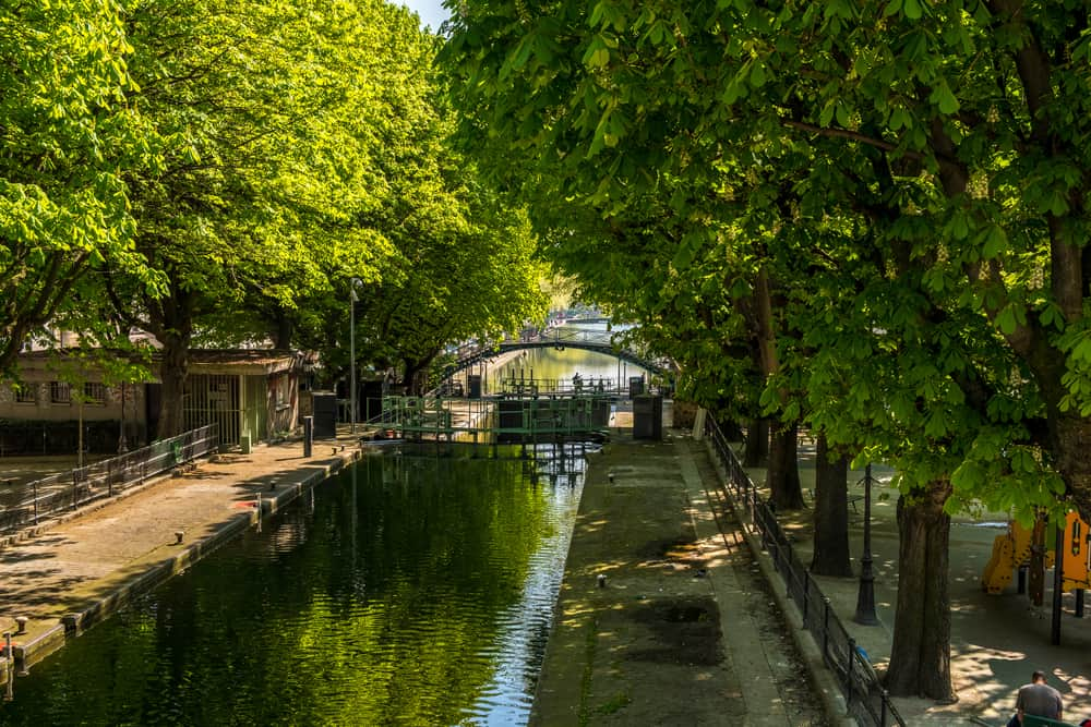 Saint Martin Kanalı Paris Fransa