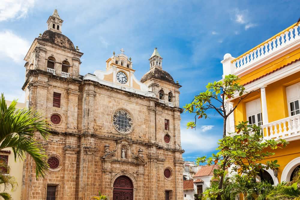 San Pedro Claver Kilisesi, Cartagena, Kolombiya